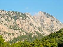 Taurus Mountains en Turquía Imagenes de archivo