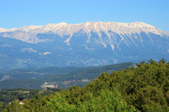 Taurus Mountains near town Kumluca Stock Photos