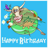 Taurus is the 2nd sign of  zodiac. Royalty Free Stock Photography