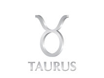Taurus sign Royalty Free Stock Photos