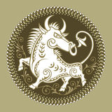 Taurus, signs of zodiac Stock Images