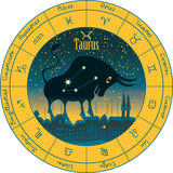 Taurus signs of the zodiac Royalty Free Stock Images