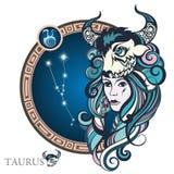 taurus Sinal do zodíaco ilustração stock