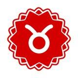 taurus wektora ilustracji znak zodiaku Zdjęcie Royalty Free