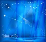 Taurus Zodiac Background Image libre de droits