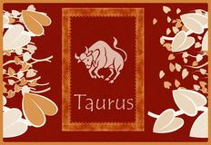 Taurus zodiac sign Stock Photo