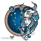 Taurus. Zodiac sign Royalty Free Stock Image