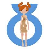 Taurus zodiac symbol Royalty Free Stock Image