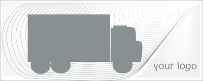 Tauschen Sie Grau auf einem weißen Hintergrund für Ihr Logo lizenzfreie stockfotos