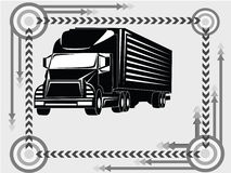 Tauschen Sie Transportikone Stockbild