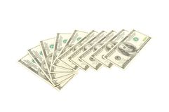 Tausend Dollar Lizenzfreies Stockfoto