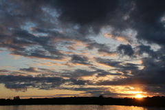 Tausend Insel-Sonnenuntergang Stockbilder