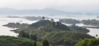 Tausend Island See, China Lizenzfreie Stockfotografie