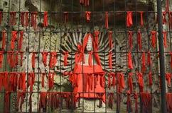 Tausenden übergibt Guanyin, Stein-Buddha in der Tang-Dynastie Lizenzfreie Stockfotos