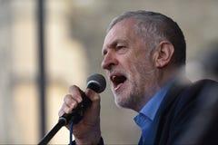 Tausenden März zur Unterstützung NHSs stockbild