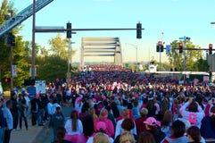 Tausenden am Rennen für die Heilung Lizenzfreies Stockbild