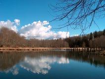 Tausendstel-Teich Stockfotos