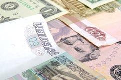 Taux de change de rouble Images stock