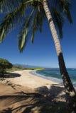 Tavares Beach norr kust, Paia, Maui, Hawaii Arkivfoton