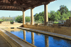 Tavel-Dorf in Provence, Süd-Frankreich lizenzfreies stockfoto