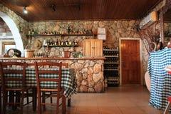 Tavern. Greek tavern in Larnaca Cyprus Royalty Free Stock Images