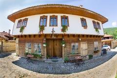 Tavern in the Balkan village in Bulgaria Stock Photo