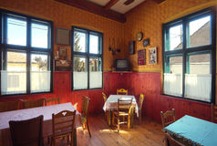 Tavern interior Stock Images