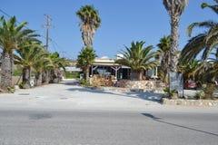 Tavern in Kefalos Stock Photography