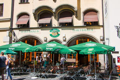 Tavern in Munich Royalty Free Stock Photography