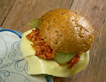 Tavern sandwich Royalty Free Stock Images