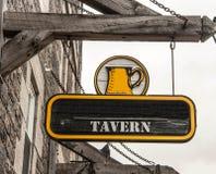 Tavern Sign Royalty Free Stock Image