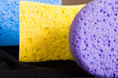 Tavern of sponges Stock Photo