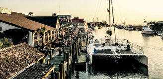Tavern Stable, Shem Creek, Charleston, SC. Stock Photo