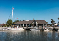 Tavern Stable, Shem Creek, Charleston, SC. Stock Photography
