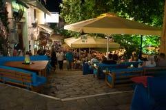 Taverna grego, Skitahos Imagem de Stock