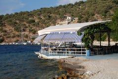 Taverna in Meganissi Stock Photo