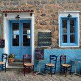 Taverna Molyvos Royalty Free Stock Photos