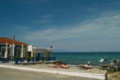 Taverna sur le bord de mer Image stock