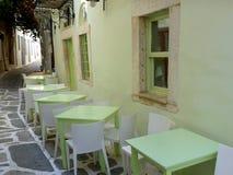 Taverna, Tinos Royalty Free Stock Image