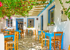 Taverna traditionnel Photographie stock