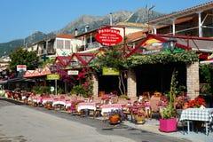Tavernas, Nidri, Lefkada, Grecja Fotografia Stock