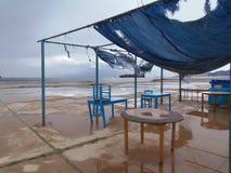 Taverne grecque Photos libres de droits