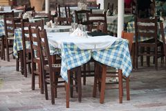 Taverne at Nafplio Stock Image