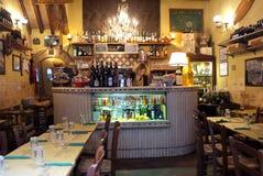Taverne romaine de vin Photo stock