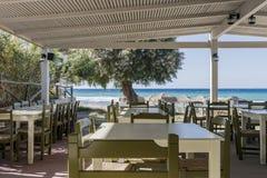 Taverne sur la plage Photos stock