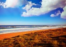 Tavernes de Valldigna beach dunes in Valencia Royalty Free Stock Photography