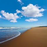 Tavernes de Valldigna beach dunes in Valencia Royalty Free Stock Images