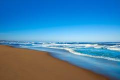 Tavernes de Valldigna beach dunes in Valencia Royalty Free Stock Photo