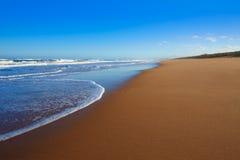Tavernes de Valldigna beach dunes in Valencia Royalty Free Stock Image