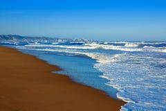 Tavernes de Valldigna beach dunes in Valencia Stock Images
